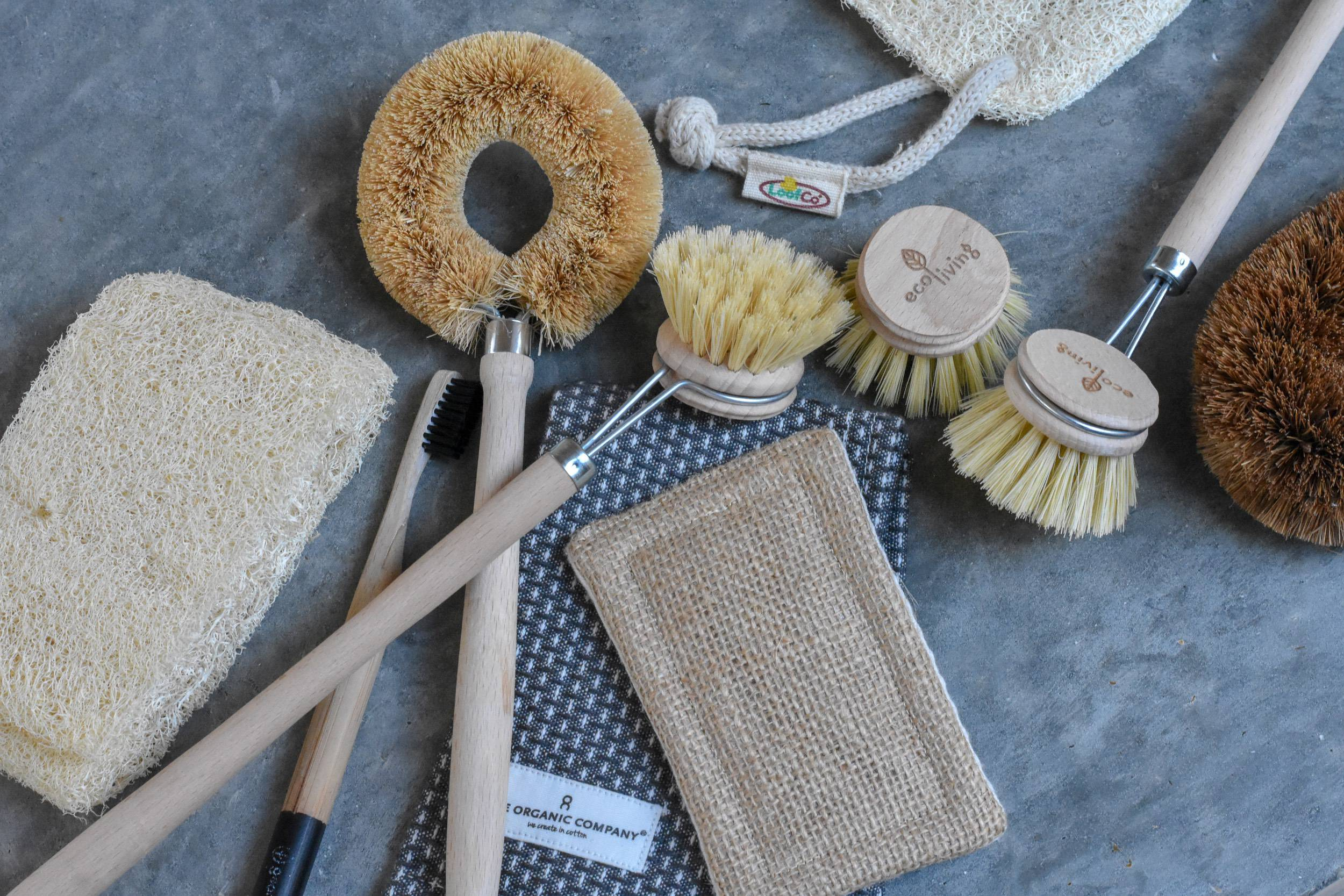 plastic free cleaning brushes