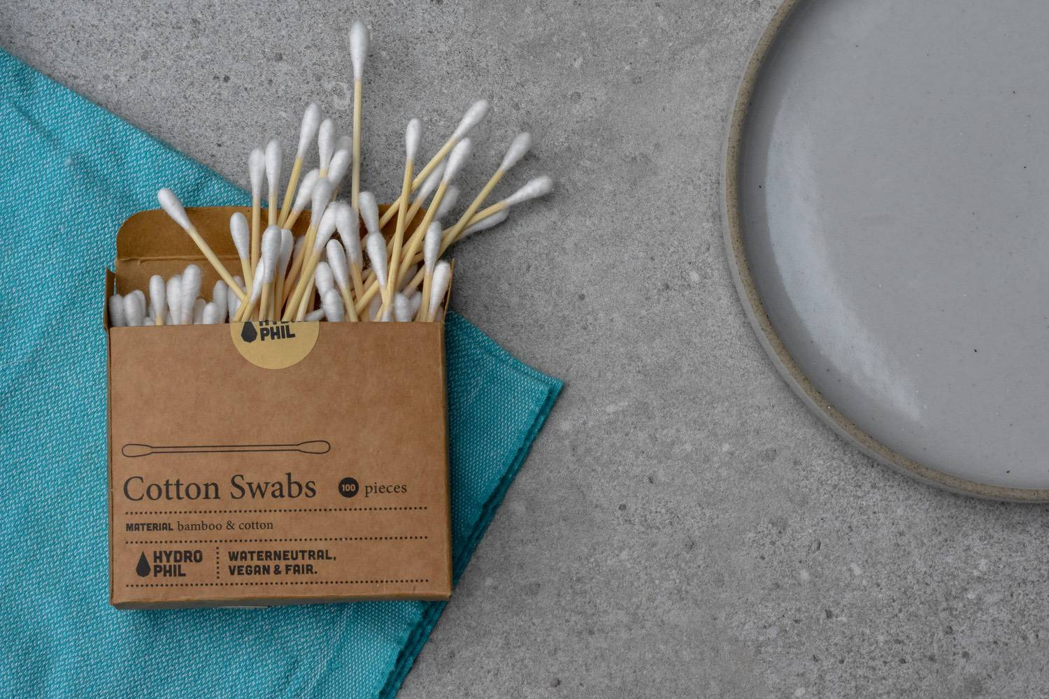 COTTON BUDS - The stats around the number of cotton buds that turn up on beach cleans are horrendous! Foolish folk flush them down the loo (along with their wet-wipes I expect) and they end up in our waterways.It's likely the UK will ban these plastic pests at some point (Scotland already has) and some brands have already made the switch to paper sticks.But a better option altogether (outside doing without, obvs) is bamboo, which is stronger AND more sustainable. Props to these two, as the packaging is compostable too: Hydro Phil & Non Plastic Beach.