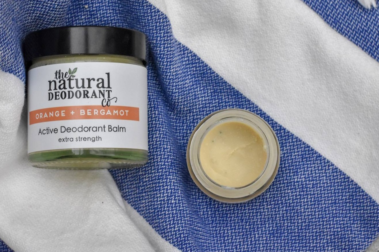 The Natural Deodorant Company - This is another totally natural rub-on deodorant, this time from the Natural Deodorant Company.It's the only natural deodorant available in a range of strengths and scents. Vegan friendly, and free from palm oil (hurray!). The standard sized glass pots are totally plastic free. The handy travel sized minis do still have plastic lids, but these are being phased out soon. Save the lids and drop them off at Lush, who recycle all bottle tops as part of their closed-loop recycling.The only off-putter might be the price - over a tenner for a deodorant might feel like a stretch.
