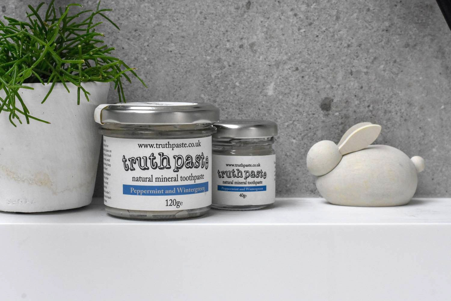 truth paste - As an ex-Brighton-dweller, I love hearing about small-business success stories from my old seaside town. Truth Paste is the UK's first zero-waste and cruelty-free mineral based toothpaste. It's made with bentonite clay, organic neem, aloe vera, myrrh and essential oils. I was incredibly skeptical about this. But my teeth have genuinely never never felt cleaner, nor my mouth fresher (I sound like a 1950's ad). You will need to get used to not having a mouth full of foam though - none of these natural products don't do that. This is a good thing, when you learn what those foaming agents actually are!There is a list of stockists here or buy it direct from Truth Paste.