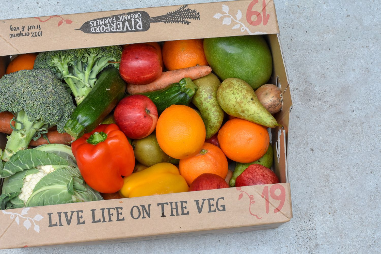 veg delivery boxes - This is one of my top five recommendations.Whilst not 100% plastic-free, all the box delivery schemes are committed to reducing, substituting or eliminating plastic packaging. This simple switch will slash the amount of plastic you get versus a supermarket delivery.It's such an easy win and there's nothing lovelier than a rainbow in a box on your doorstep. Three to check out:Riverford - trailblazers in sustainable organic farming, and environmental campaigning, they claim to reduce like-for-like supermarket plastic by 80% (and they definitely do)Organic Delivery Co - with an option to select an entirely plastic free boxOddbox - these heroes rescue wonky or surplus produce, and give it a good home in your weekly box. This is a great value option if you aren't fussy about guaranteeing organic produce.