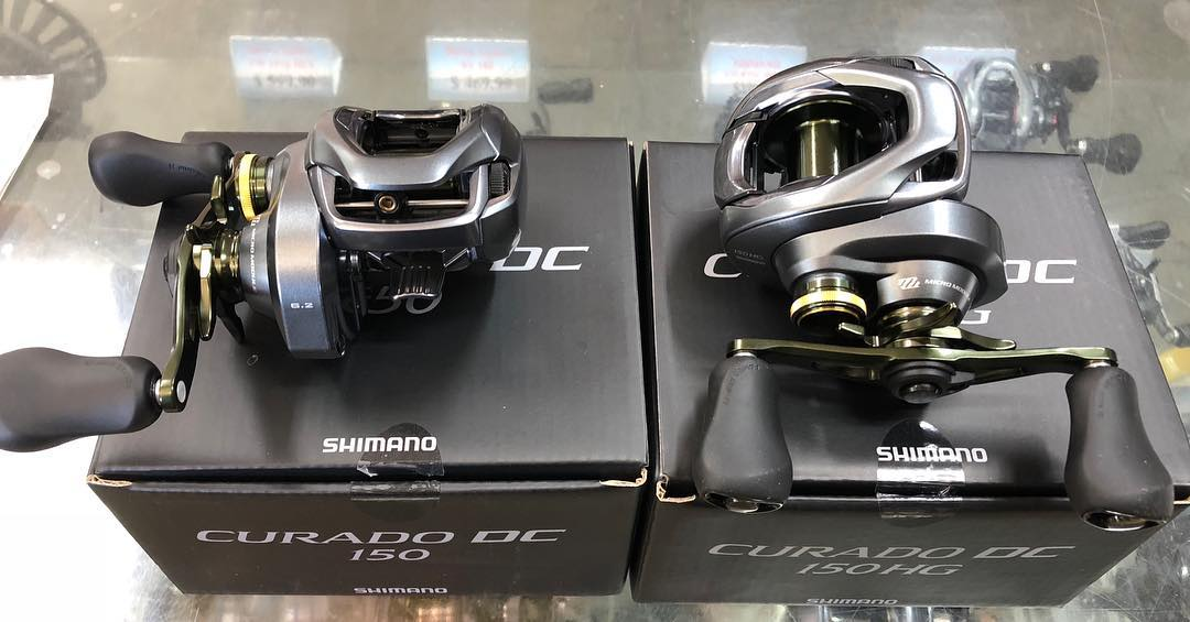 Shimano Curado DC just arrived in store ..................................................... Drop in and check them out !