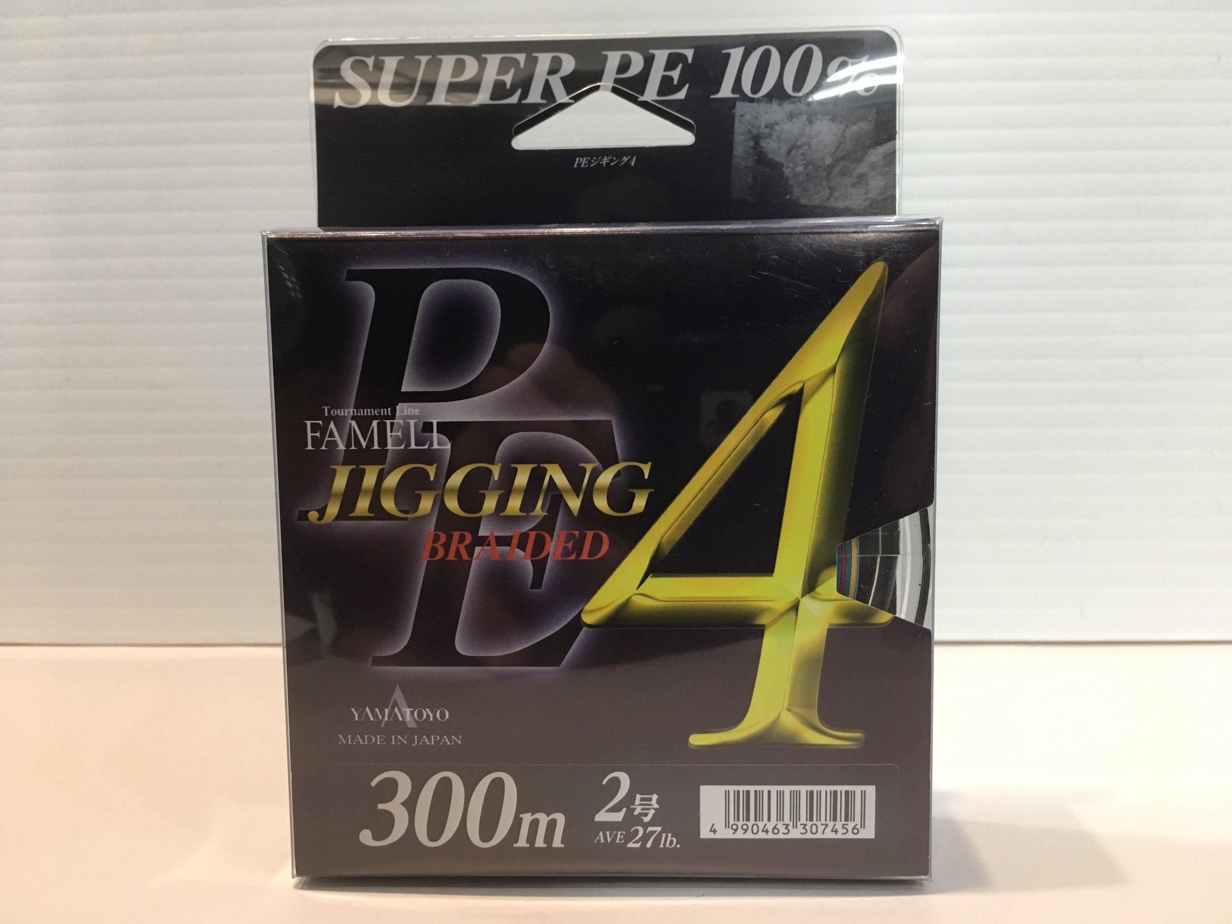 Yamatoyo Super PE4 Jigging