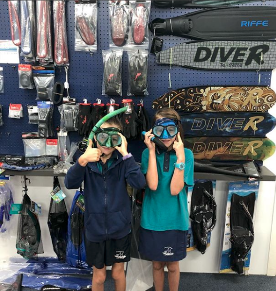 Spearfishing — HOOKEDON