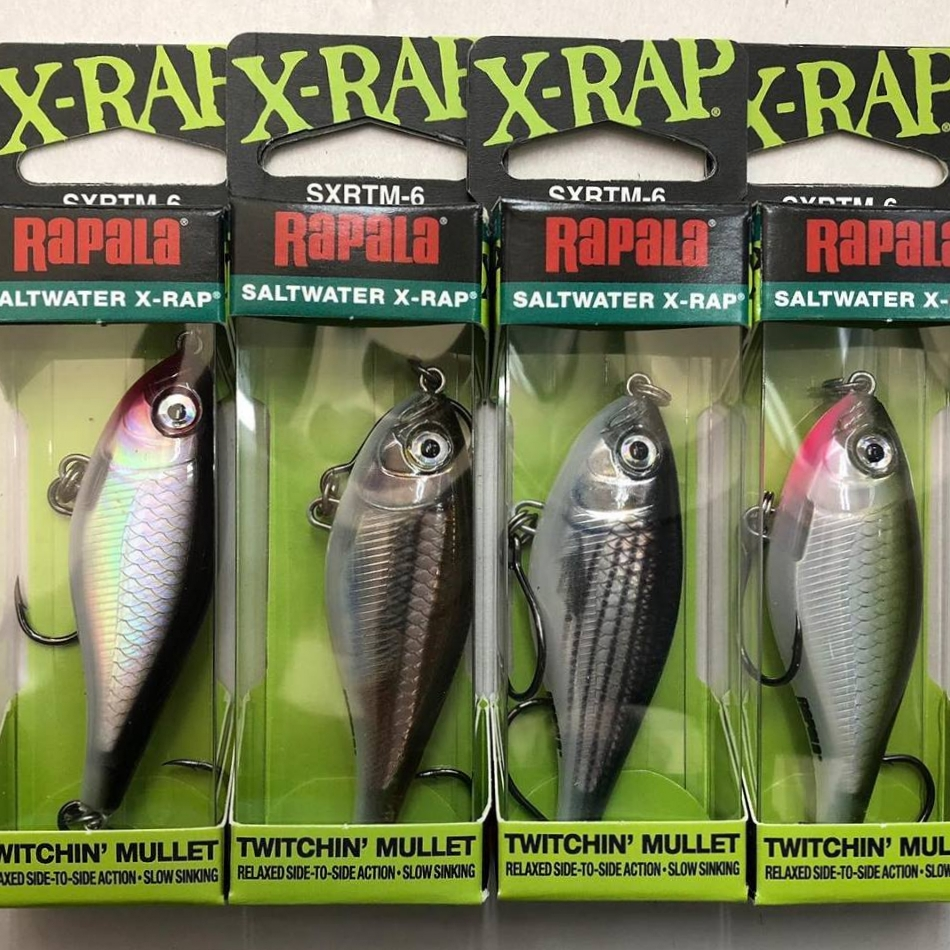 Rapala 6cm Twitchin' Mullet - New ! Just arrived Rapala Twitchin Mullet in 6cm ! These are deadly in the bigger sizes , so cant wait to trial these.Click Photo for VIDEO