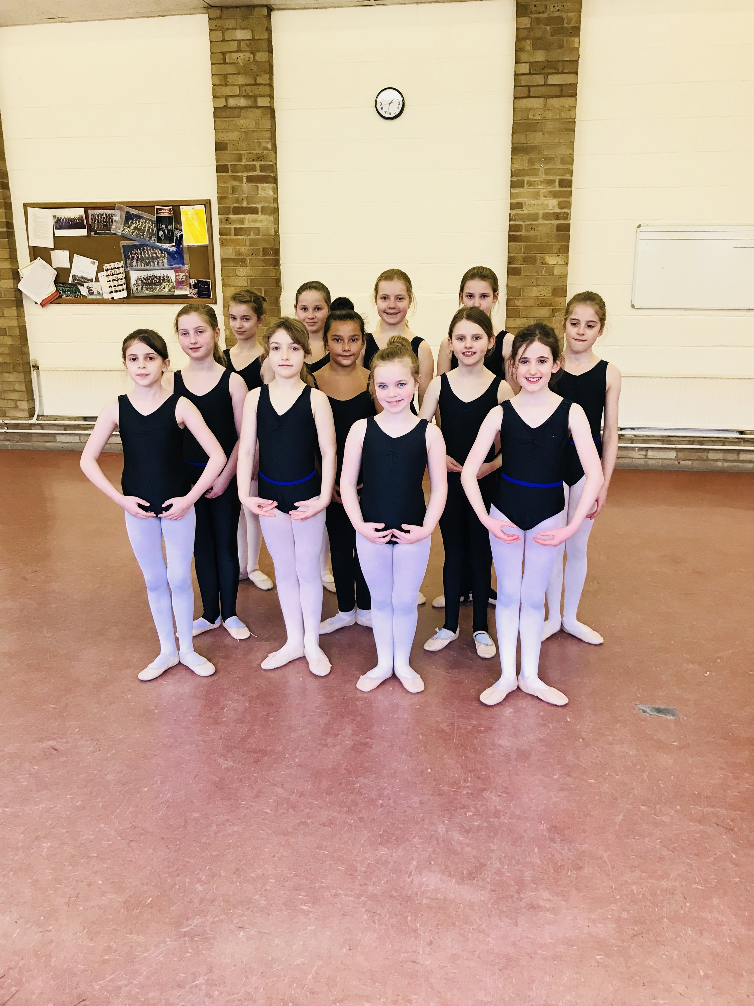 Ballet classes in Oxfordshire