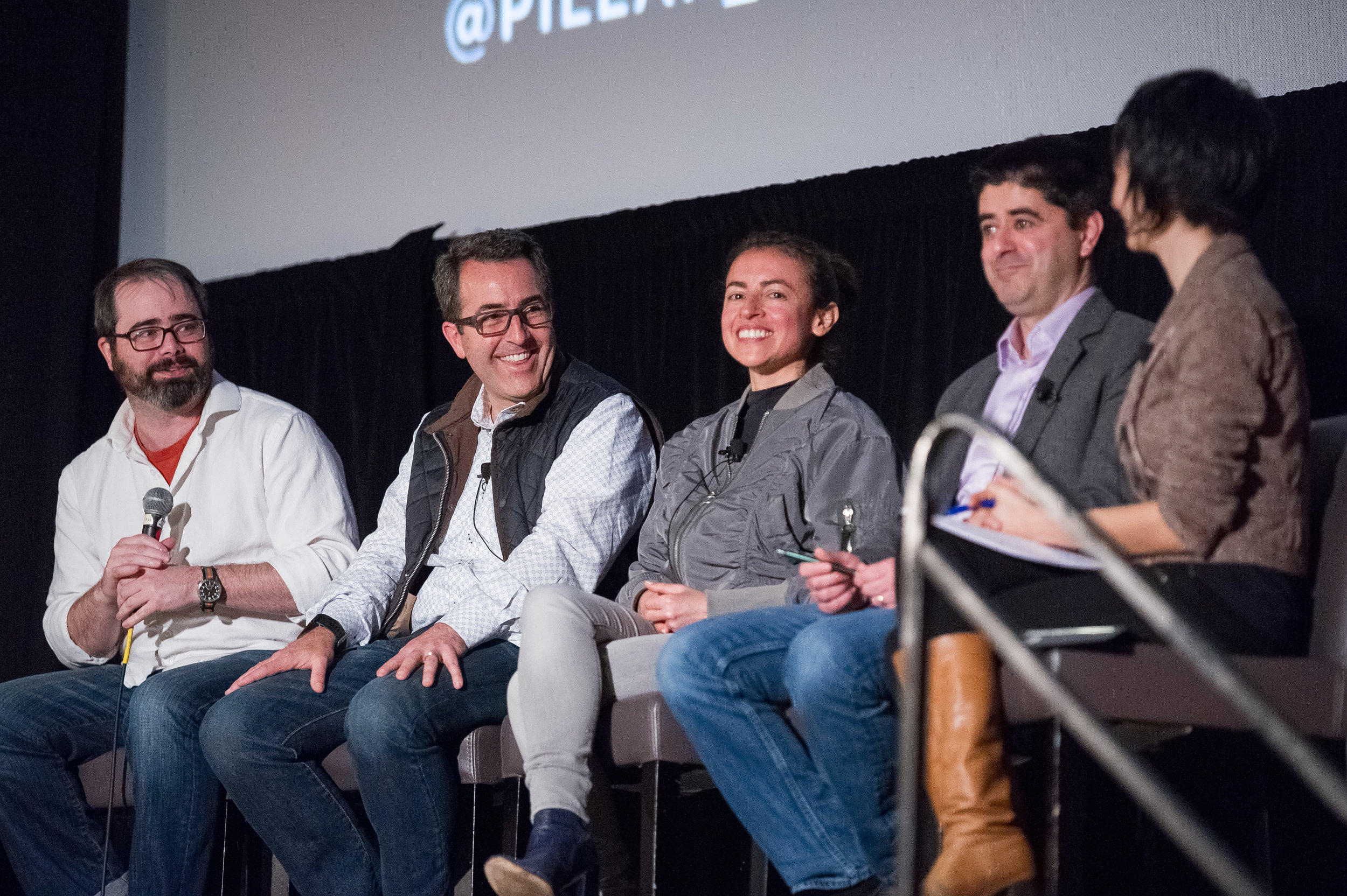 Rob Massey (second from left) on a panel at the (Off) The Chain Summit presented by Pillar