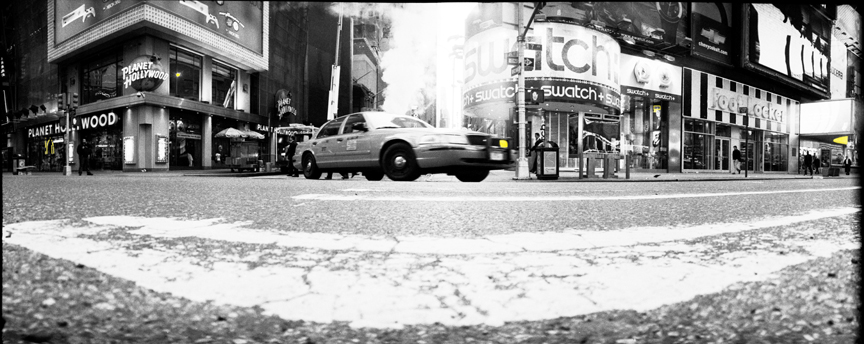 Times Square Taxi Crossing
