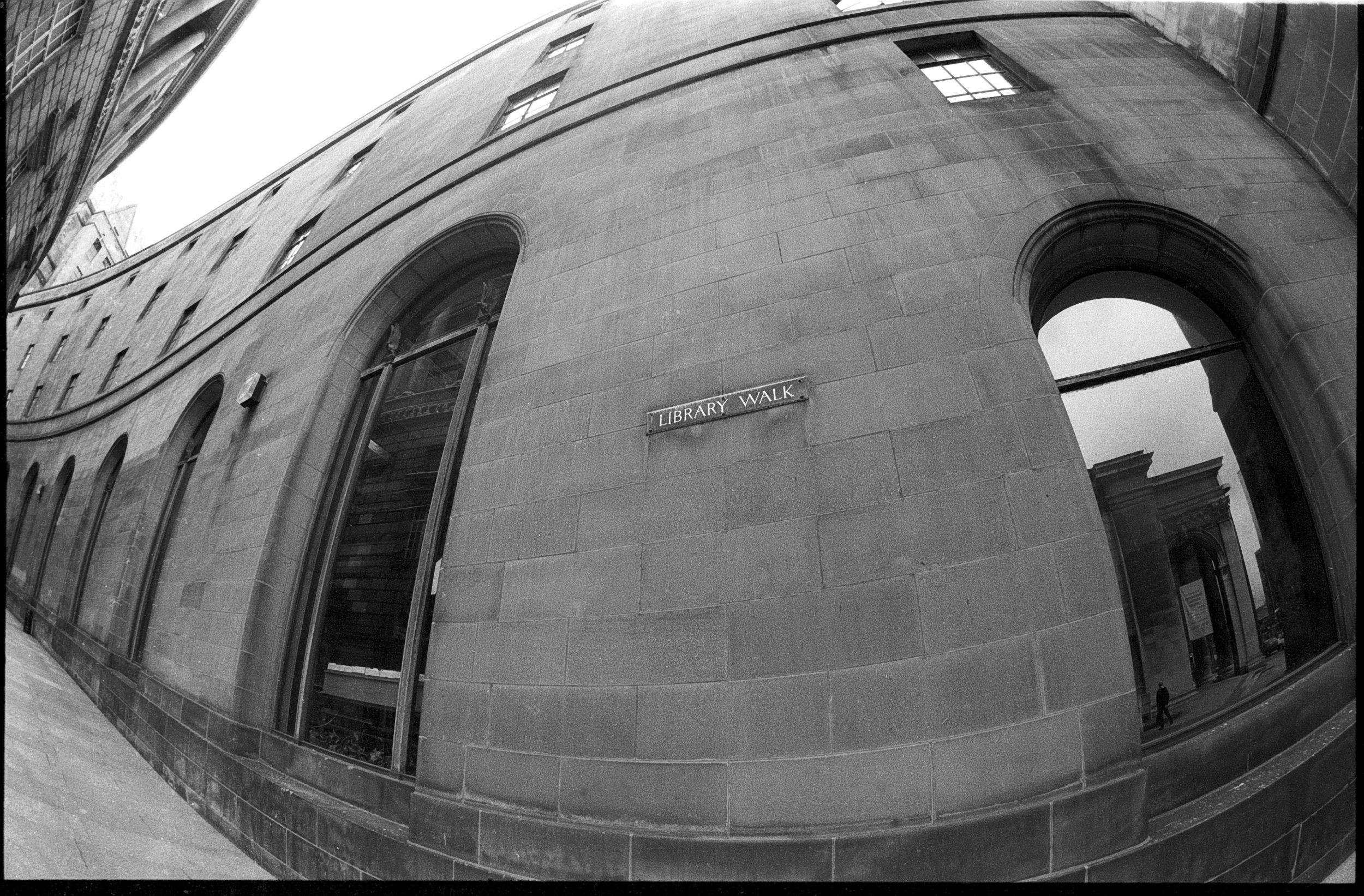 Library Walk, Manchester