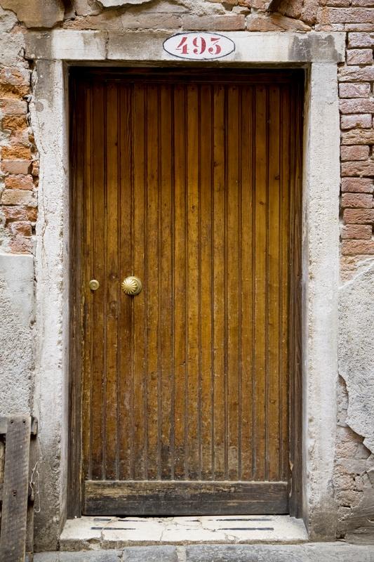 Wood Door Slats