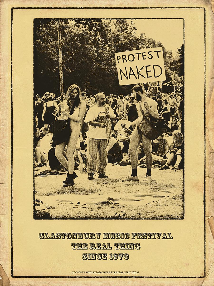 """Glastonbury - Glastonbury Poster 16""""x12"""" £9.99"""