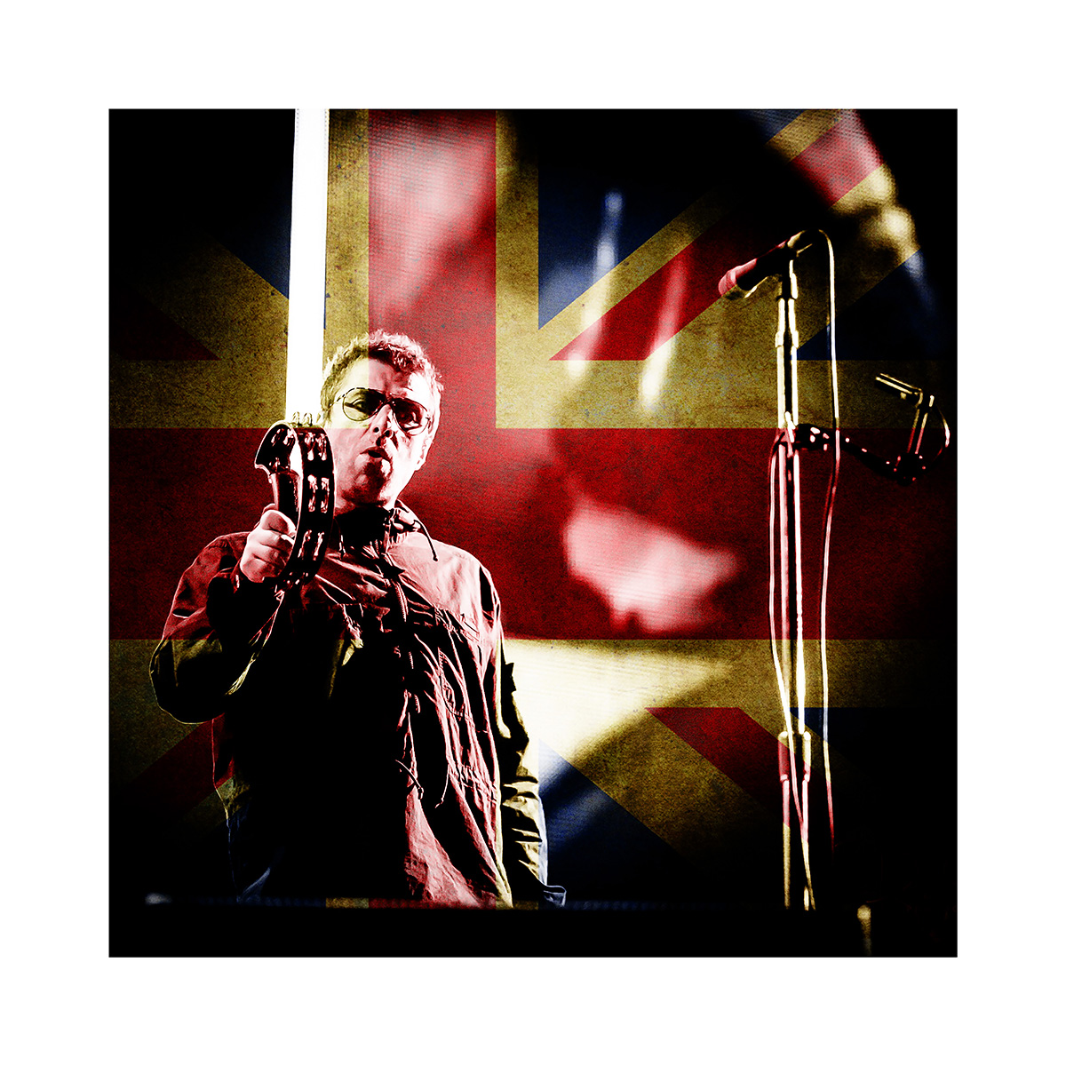 """LIAM GALLAGHER BRITISH ROCK STAR LTD EDITION PRINT 16""""x20"""" £195  24""""x30"""" £295.00  32""""x40"""" £395.00"""