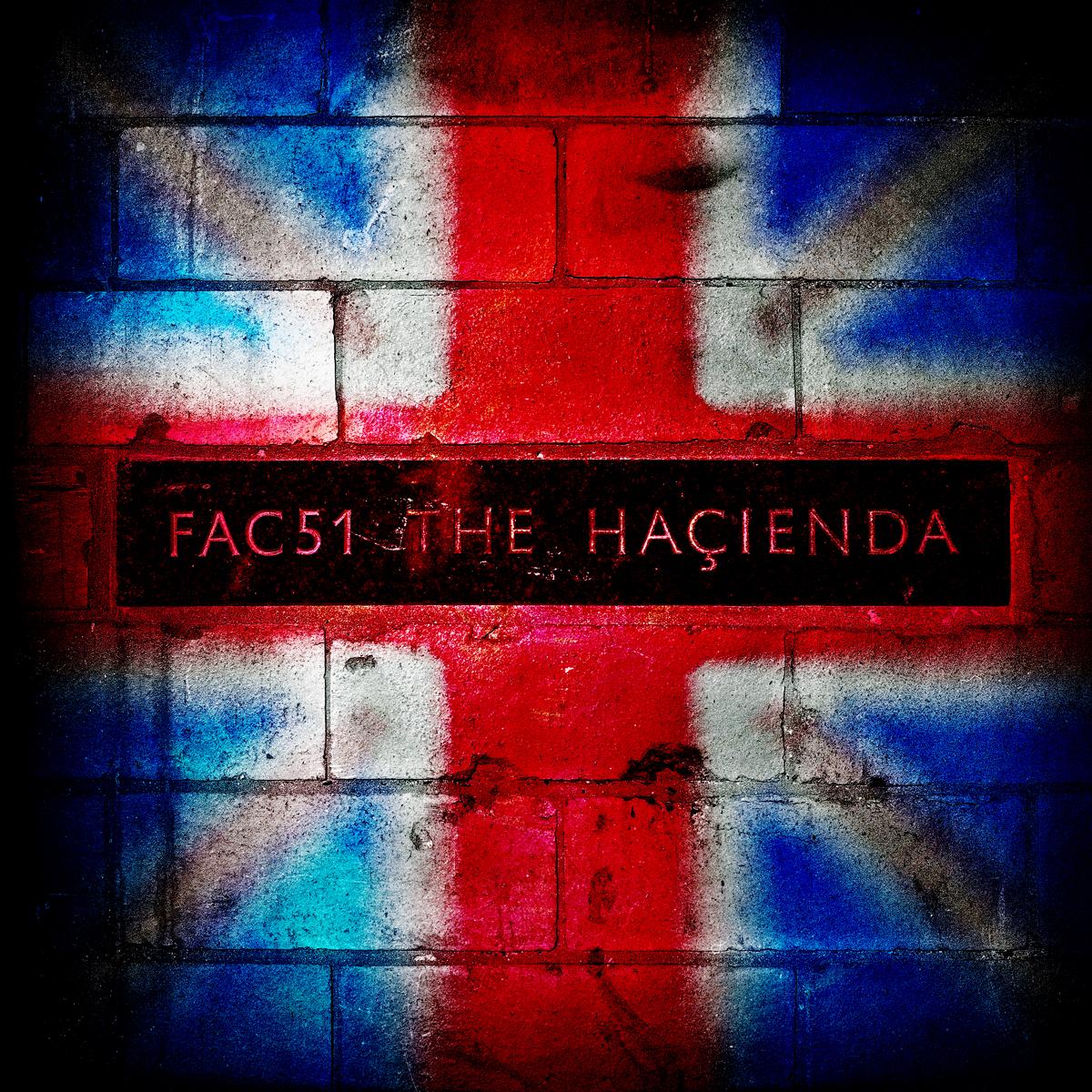 "Hacienda Club Original FAC51 ""Made in Manchester"" 20""x20"" £195.00.  30""x30"" £300.00  40""x40"" £495.00"