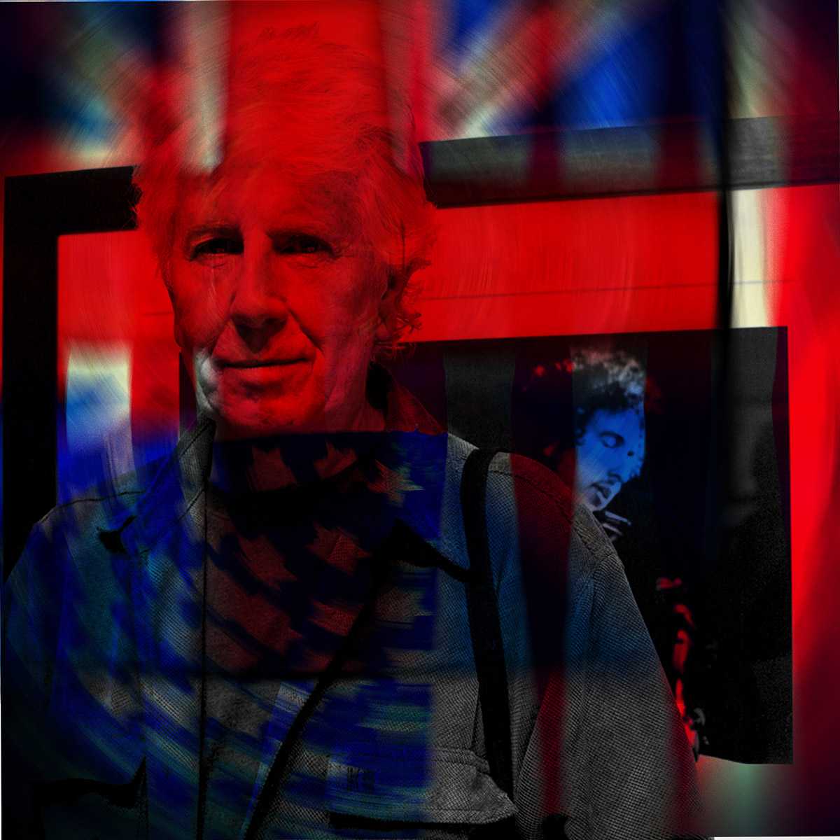 "Graham Nash ""American Hero"" 12""x12"" £95.99  20""x20"" £150.00  30""x30"" £300.00"