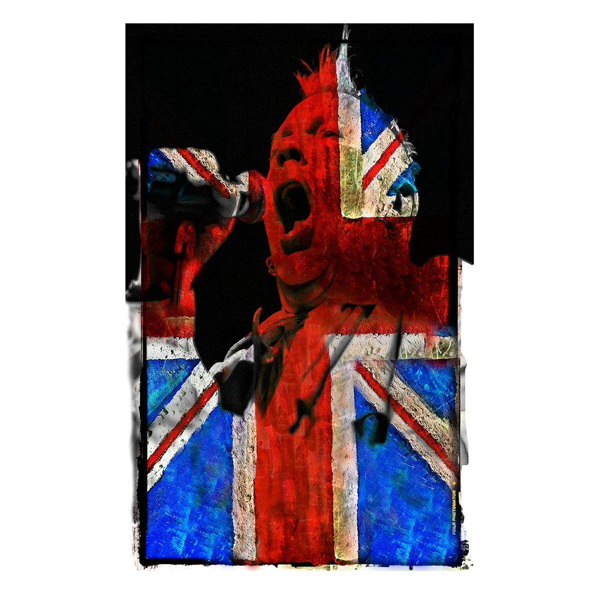 "John Lydon PIL ""English Punk"" 12""x12"" £95.99  20""x20"" £150.00  30""x30"" £300.00"