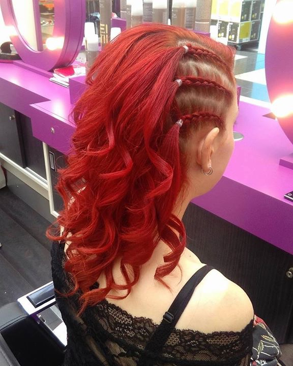 Braid Runner £12 add the curls for only £3 extra