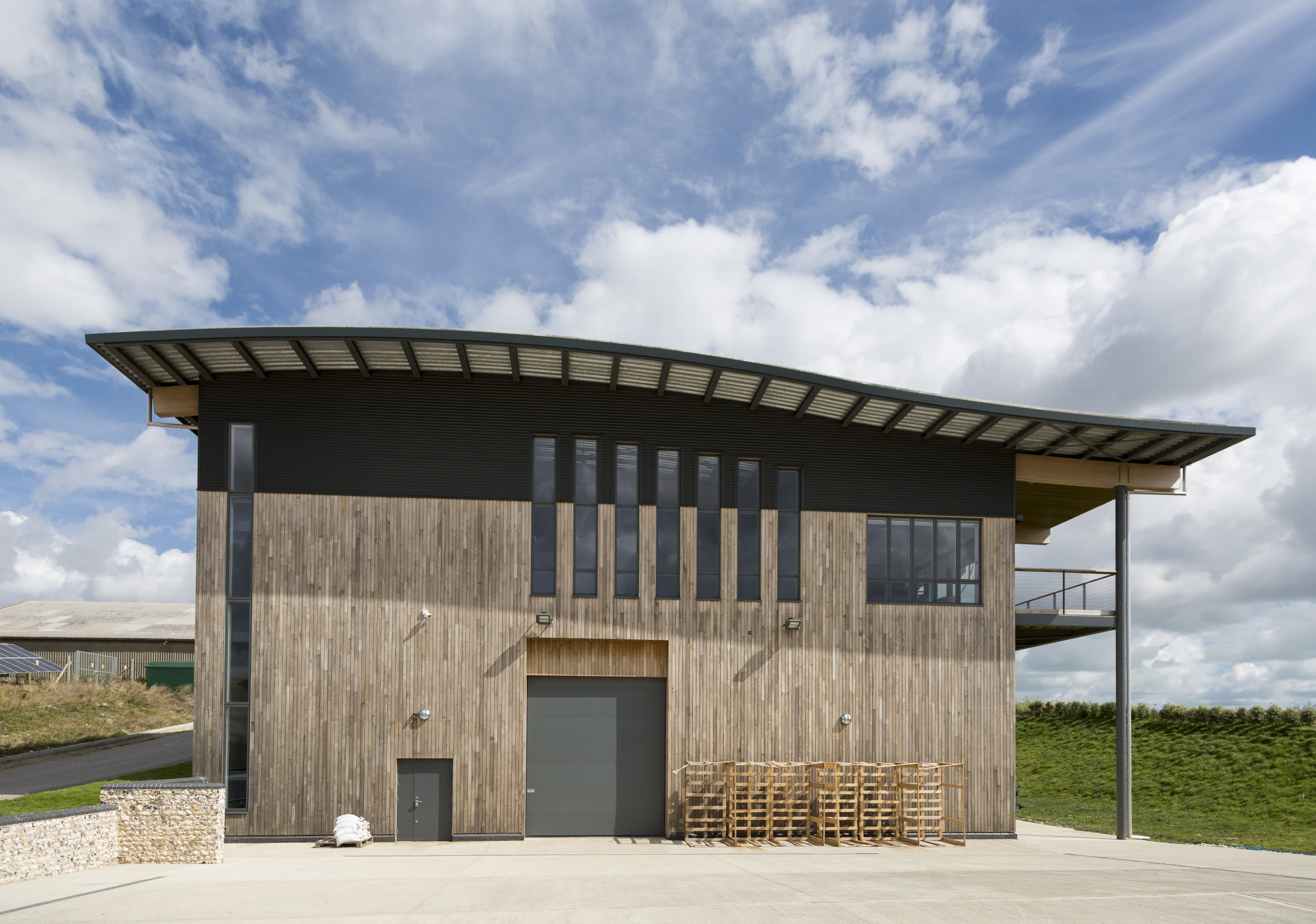 Rathfinny Estate Winery, East Sussex, completed October 2013 - The concept design & lead designer was Martin Swatton Design LTD. Mark as a Director of Designcubed, acted as project architect, site architect & design co-ordinatorAwards:Sussex Heritage Trust Awards 2015, commercial building section (winner)RIBA South East Awards 2015 (shortlisted)A state-of-the-art winery located in the South Downs valley, tipped to become one of the biggest single estate wineries in Europe, with a plan to produce 1 million bottles of Sussex Sparkling wine per year