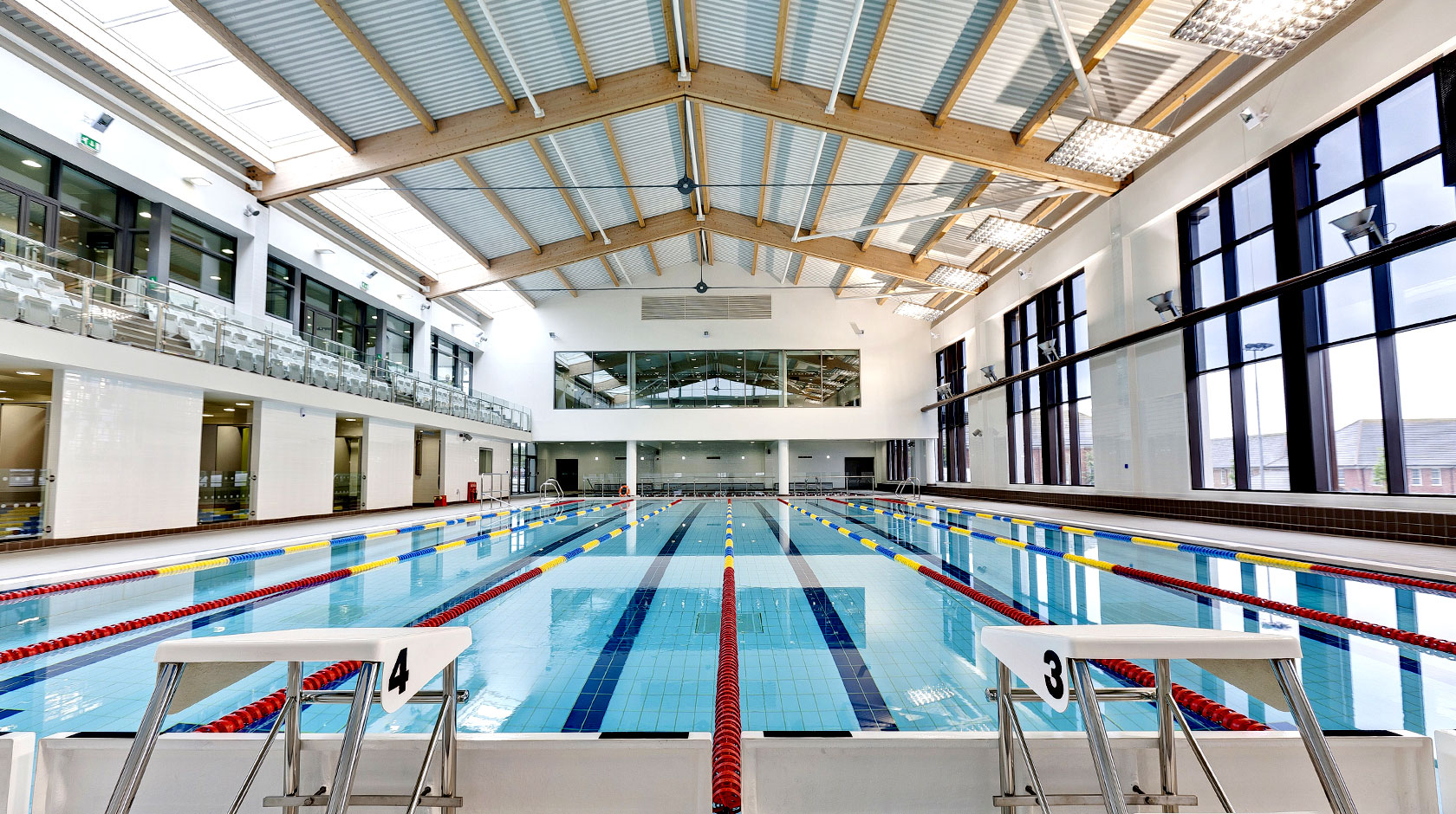 Thomas Hardye leisure Centre, Dorsetopened to the Public in 2012 - Associate Director & architect, for Dyer AssociatesA 25m community swimming pool, learner pool, gym and fitness studios in Dorchester, Dorset