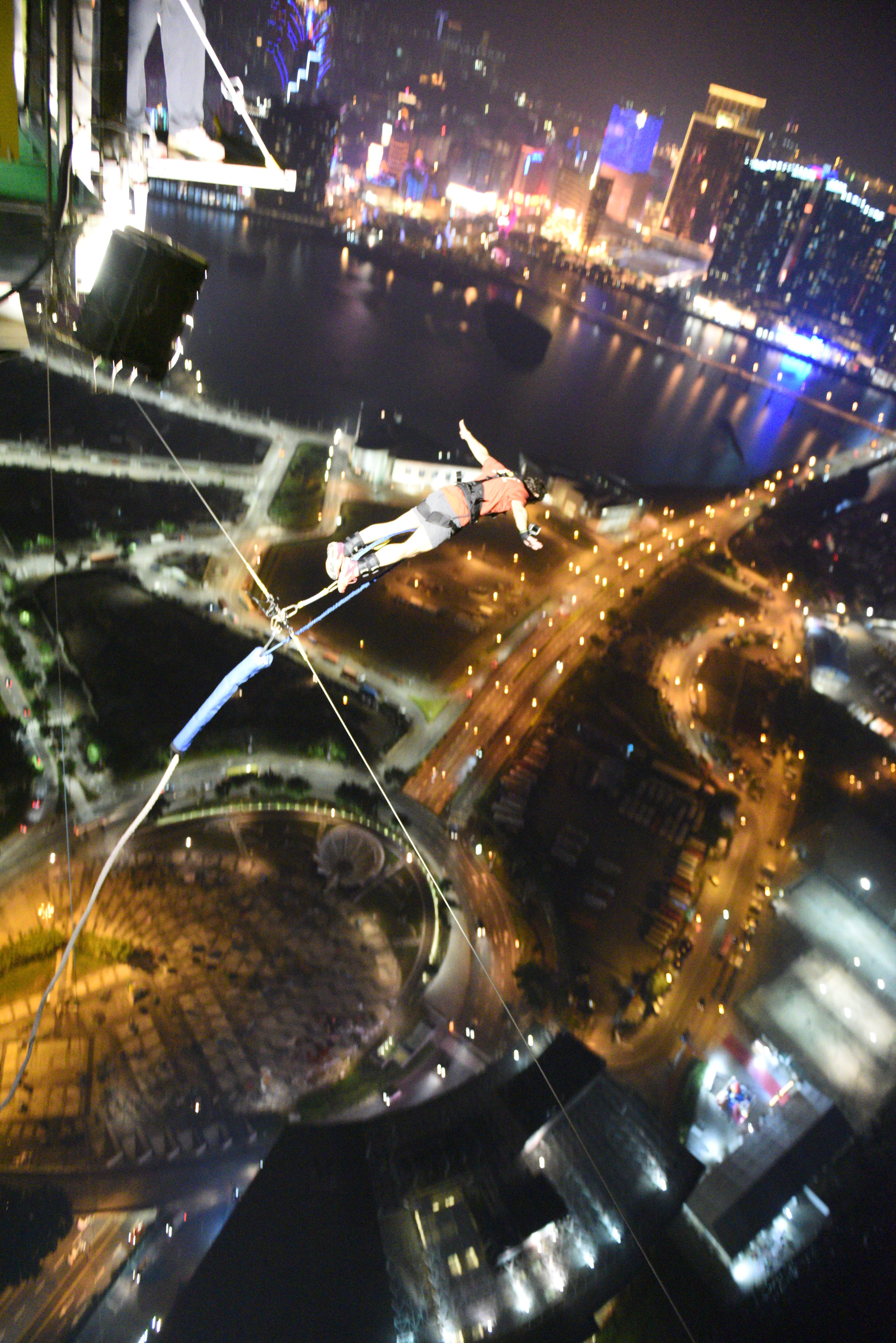 World's Highest Bungy - Macau Tower