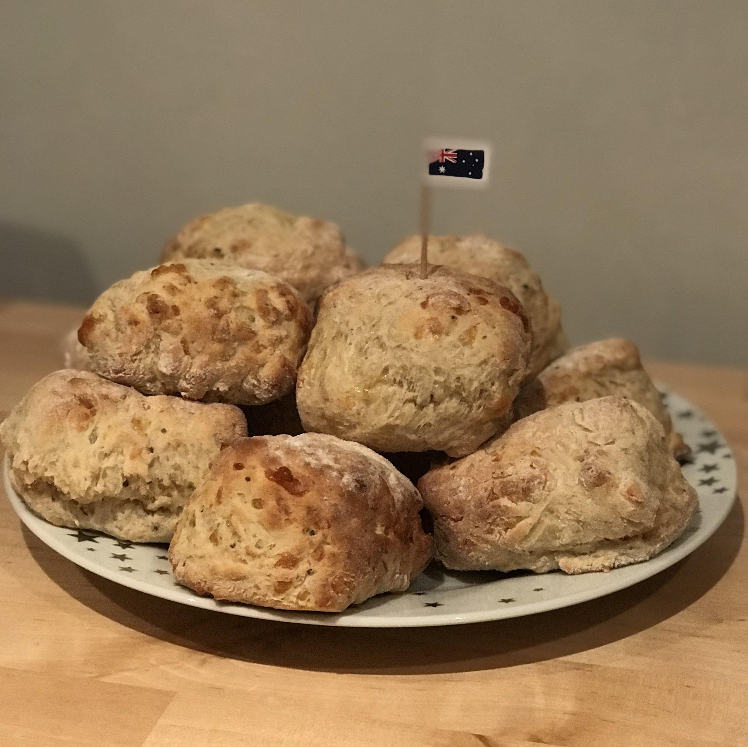 Aussie Cheesey Scones