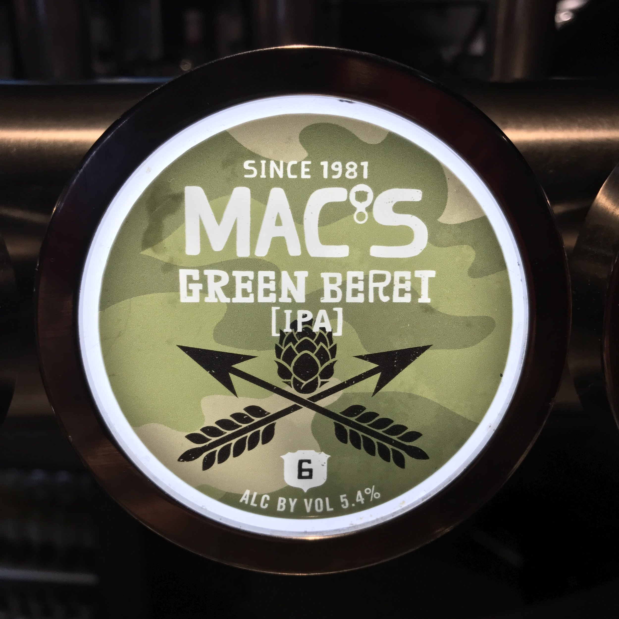 MAC'S GREEN BERET IPA