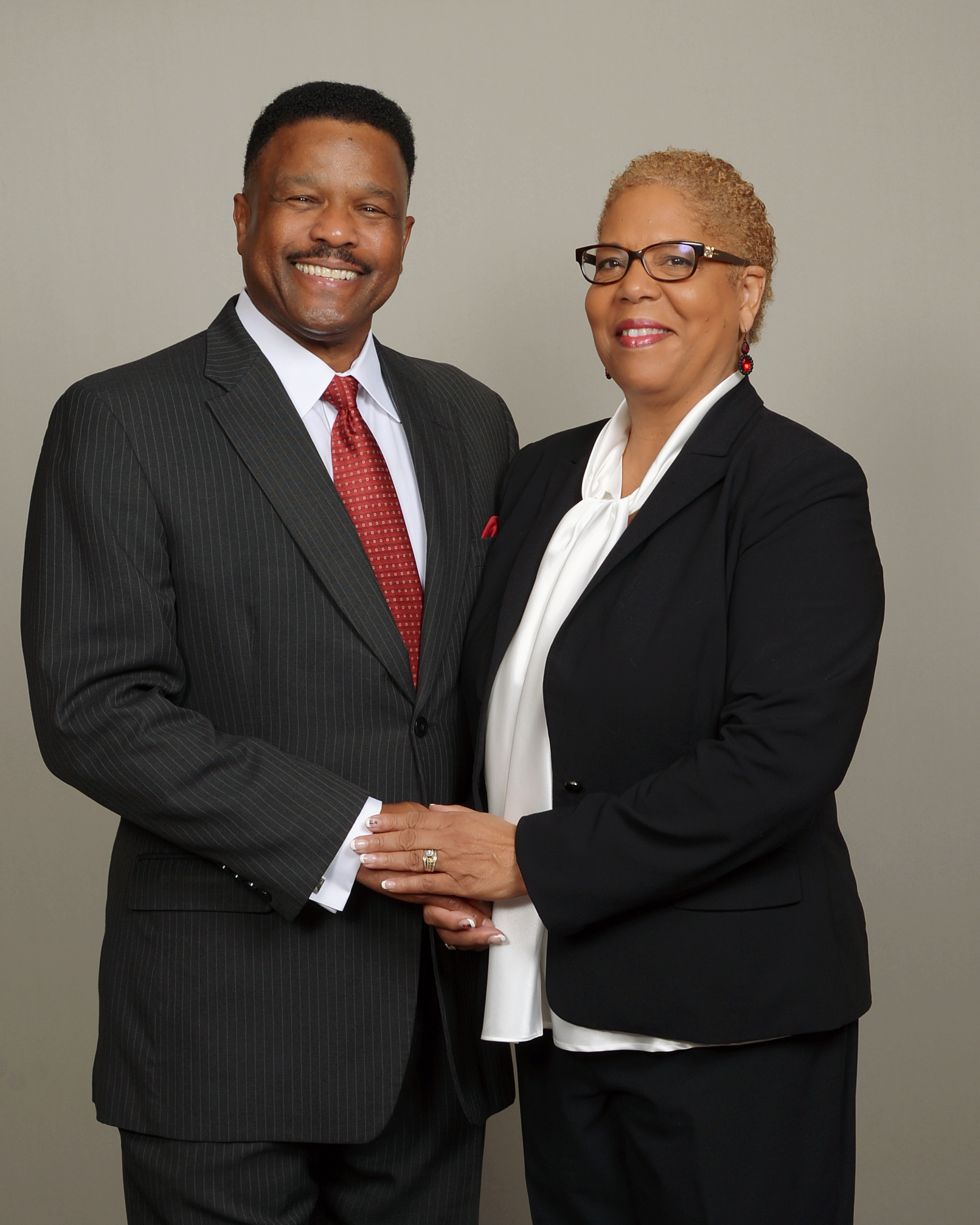 Roland and Dr. Dorothy Smith-Hubbard