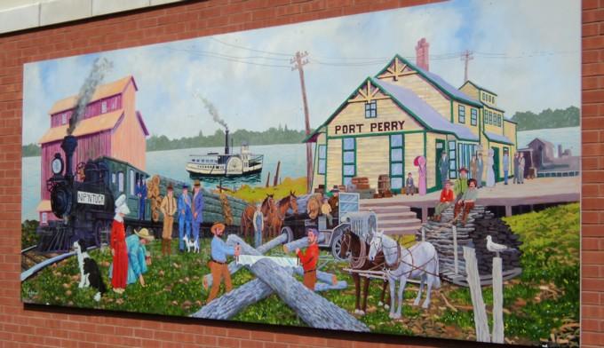 Port Perry Mural