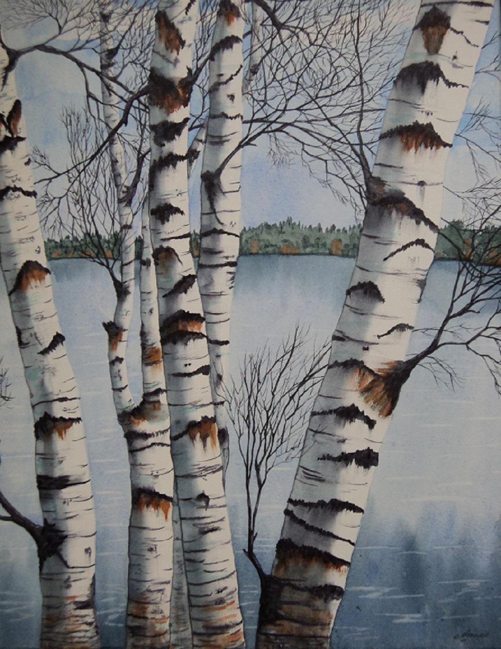 Winter Birch 1