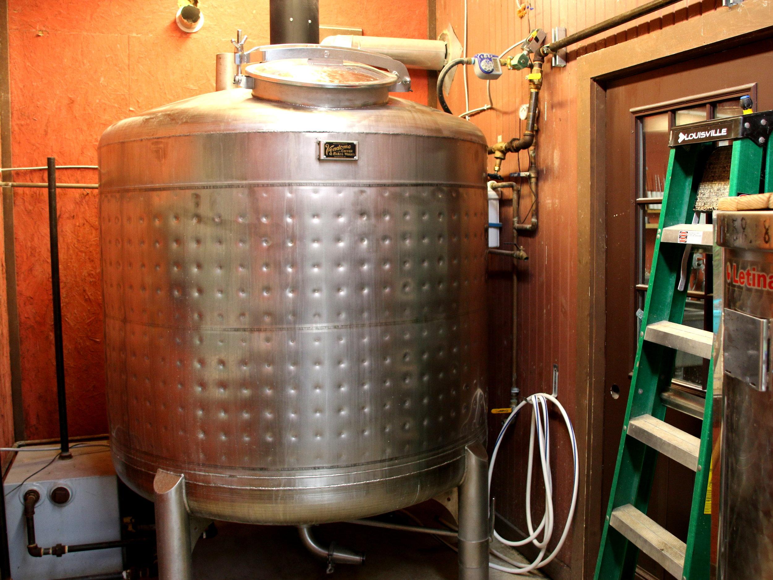 500 Gallon Mash Tun 2014