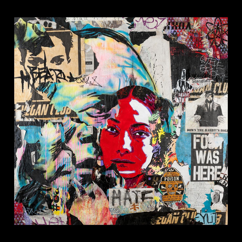 "Standing Rock: Los Angeles - Arts District - 81"" x 78"""