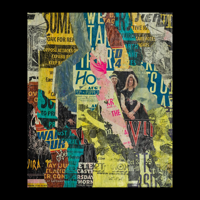 "Pink: Portland - SW 12th - 20"" x 24"""
