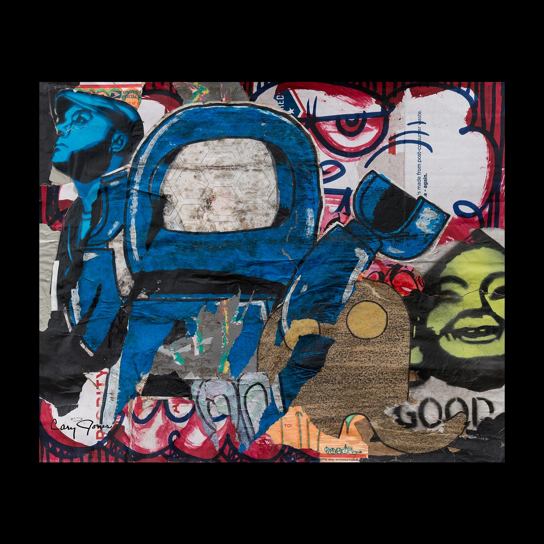 """Transcendence: Austin - Eastside - 14.5"""" x 17.5"""""""