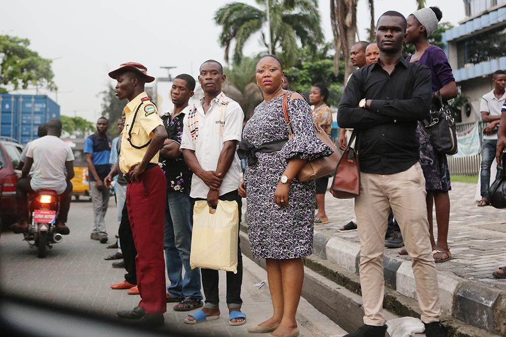 Nigerian kaupungit kasvavat nopeasti. Lagosissa asuu 14 miljoonaa ihmistä.