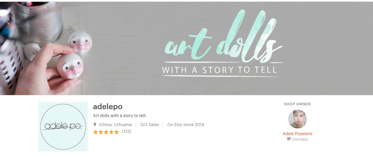 etsy shop by adelepo