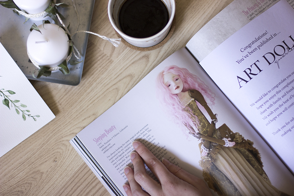 Art doll quarterly magazine adelepo