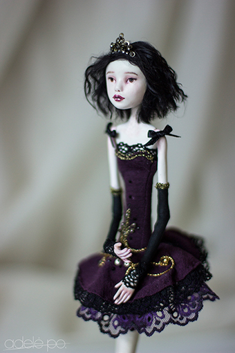 OOAK art doll - fouette by adelepo.jpg