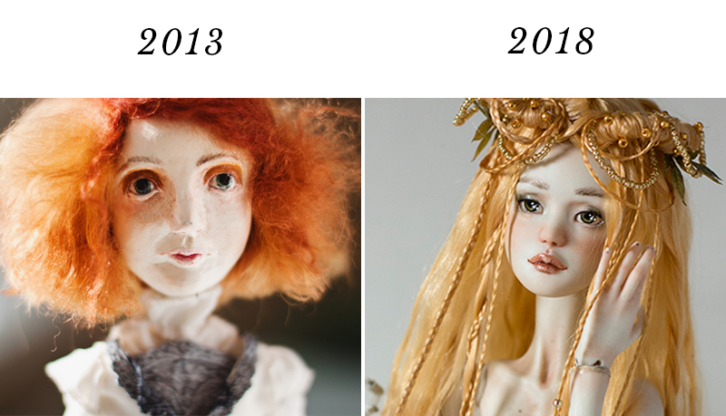 Learning doll making by yourself by Adele Po.