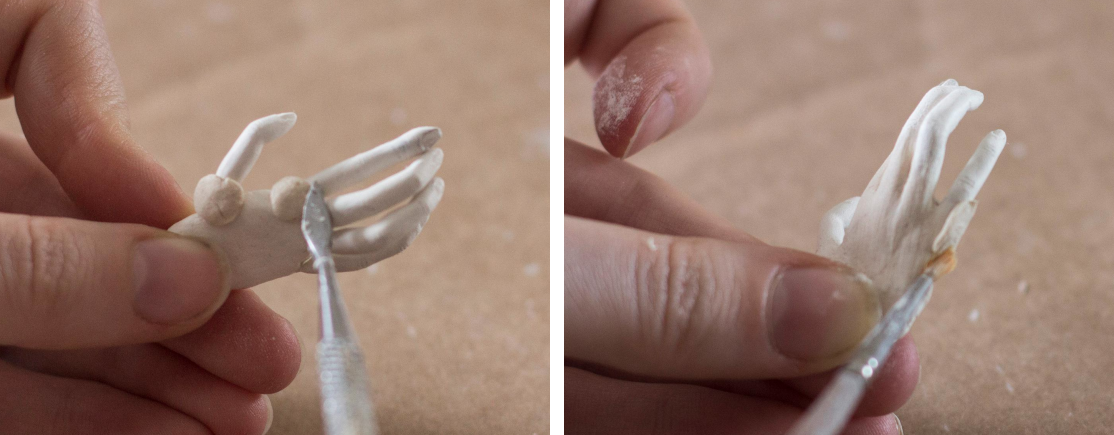 Sculpting hands - my favourite techniques | by Adele Po.