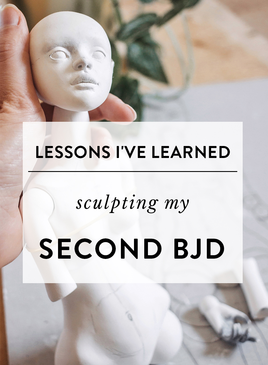 Lessons I learned sculpting my second BJD | by Adele Po.