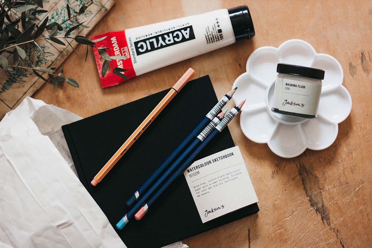 Jackson's art supplies review and first impressions by Adele Po.
