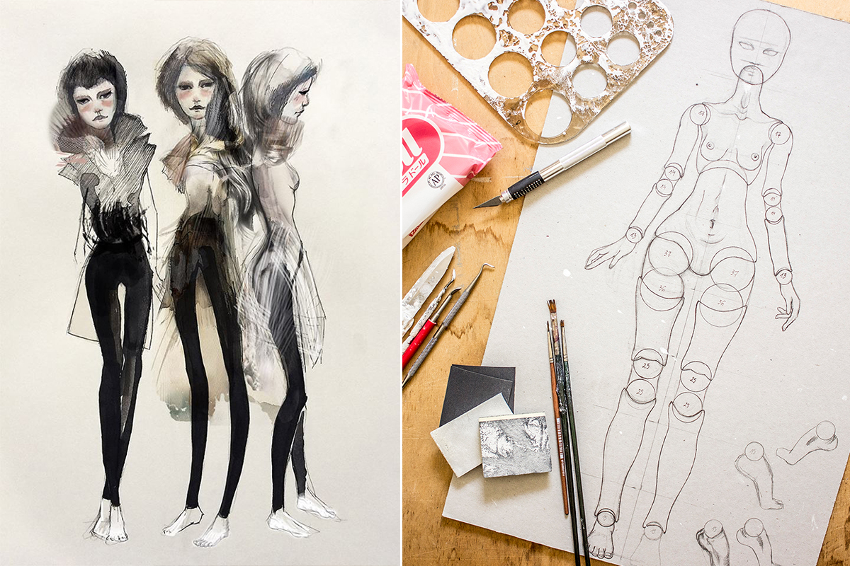What goes into making an art doll? by Adele Po.