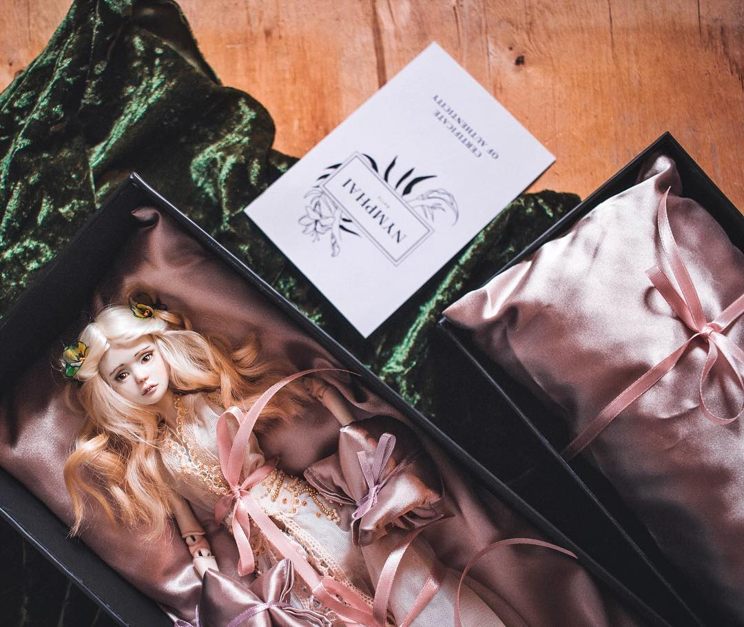 Packaging for art dolls by adelepo