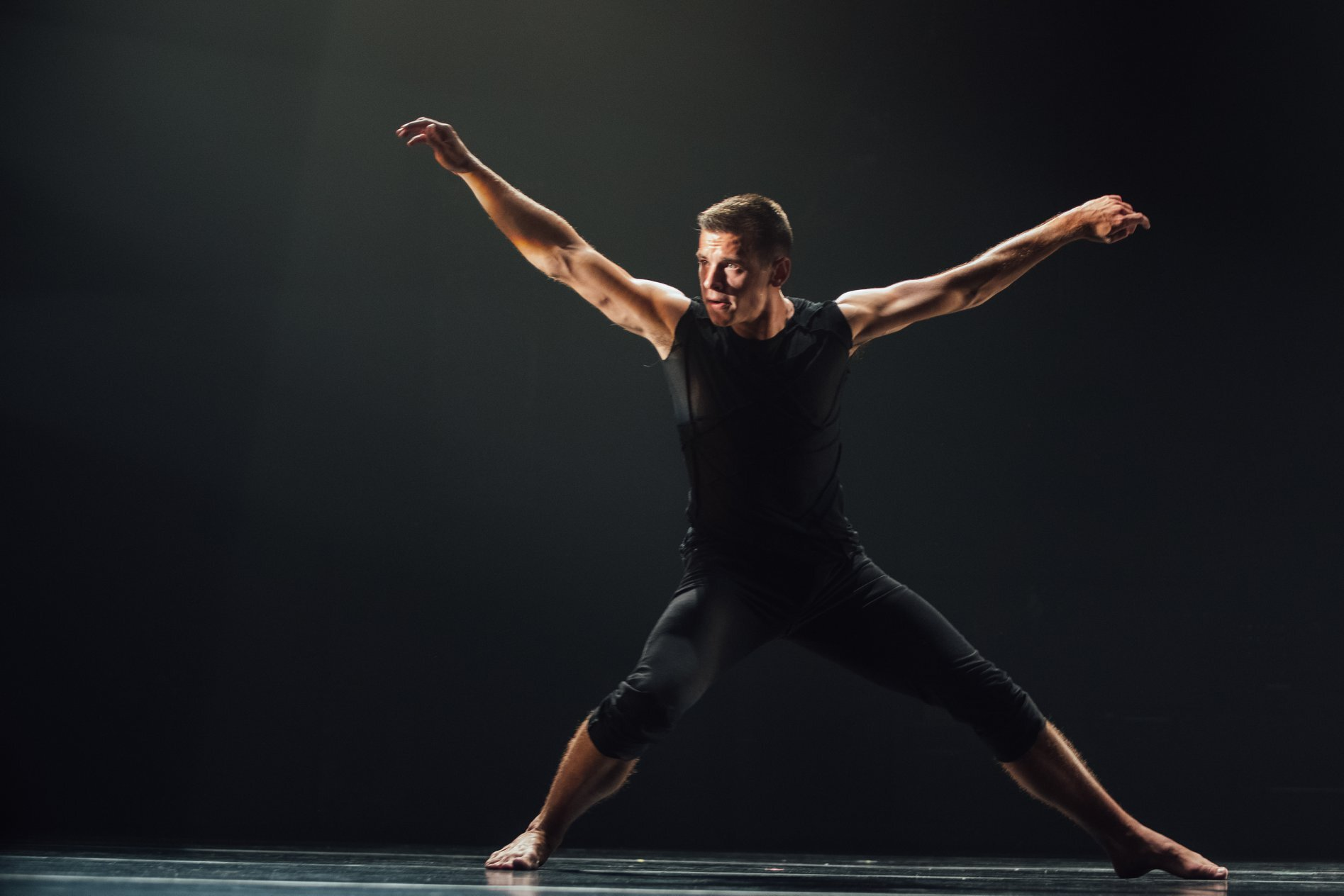 Devon Larcher, Dancer   Devon Larcher is a native of Pawtucket, Rhode Island where he graduated from the High School for the Performing and Visual Arts. Devon started his career traveling the world on the Royal Caribbean cruise line as a dancer and aerialist. He has been a member of the Bill Evans touring company as well as Urbanity Dance Company since 2014. Devon not only loves the stage but also to choreograph and create which he has had the opportunity to do both in the states and internationally. Devon joined Koresh Dance Company in 2018.