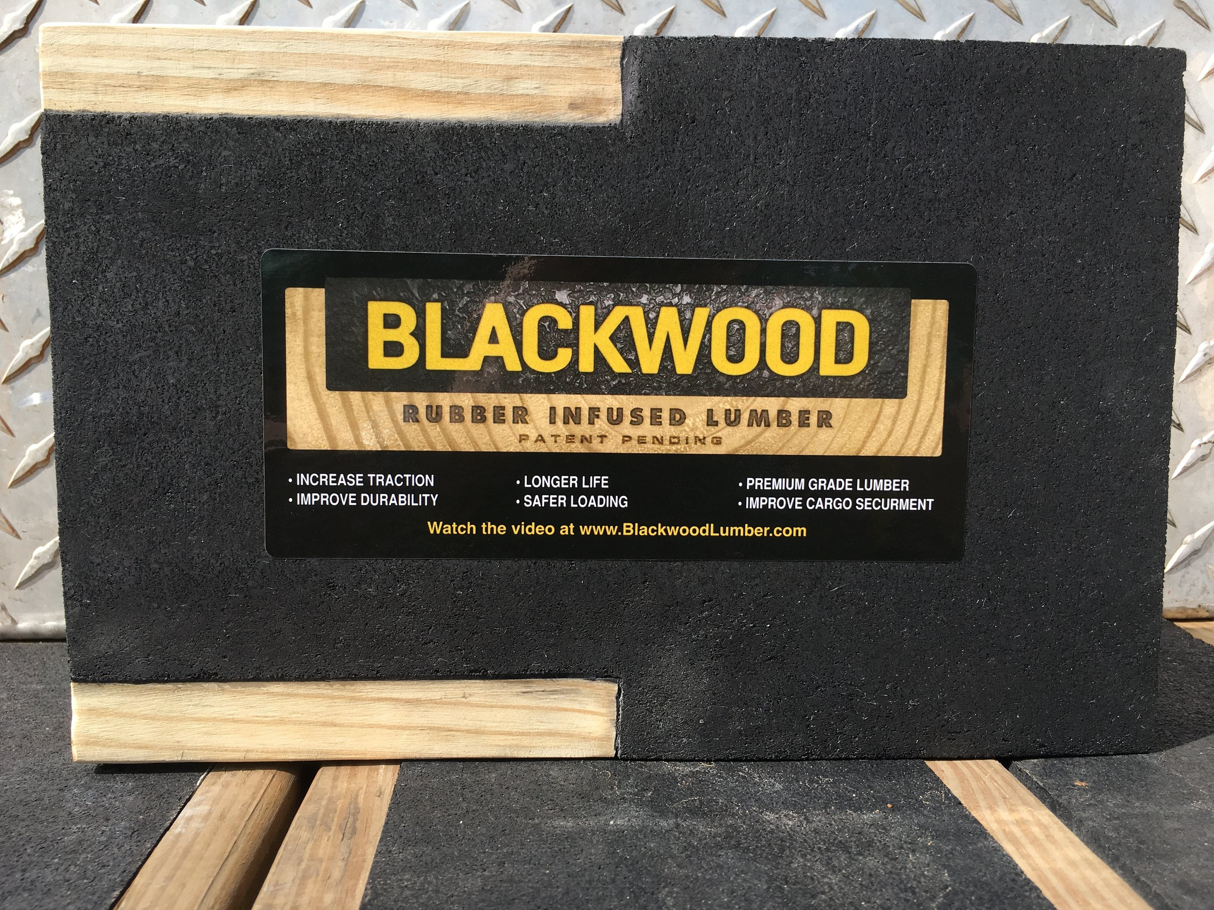 Any surface that benefits from increased traction, strength and durability is a great application for Blackwood Lumber.