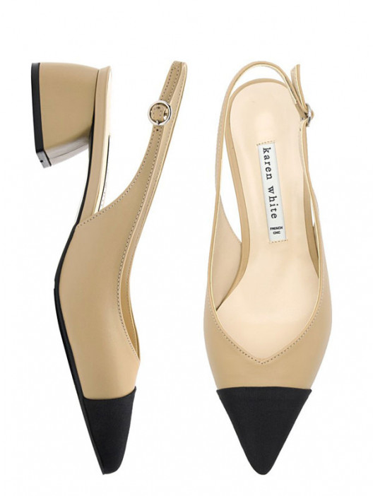 Their Dupes #2 CHANEL Cap Toe Slingback