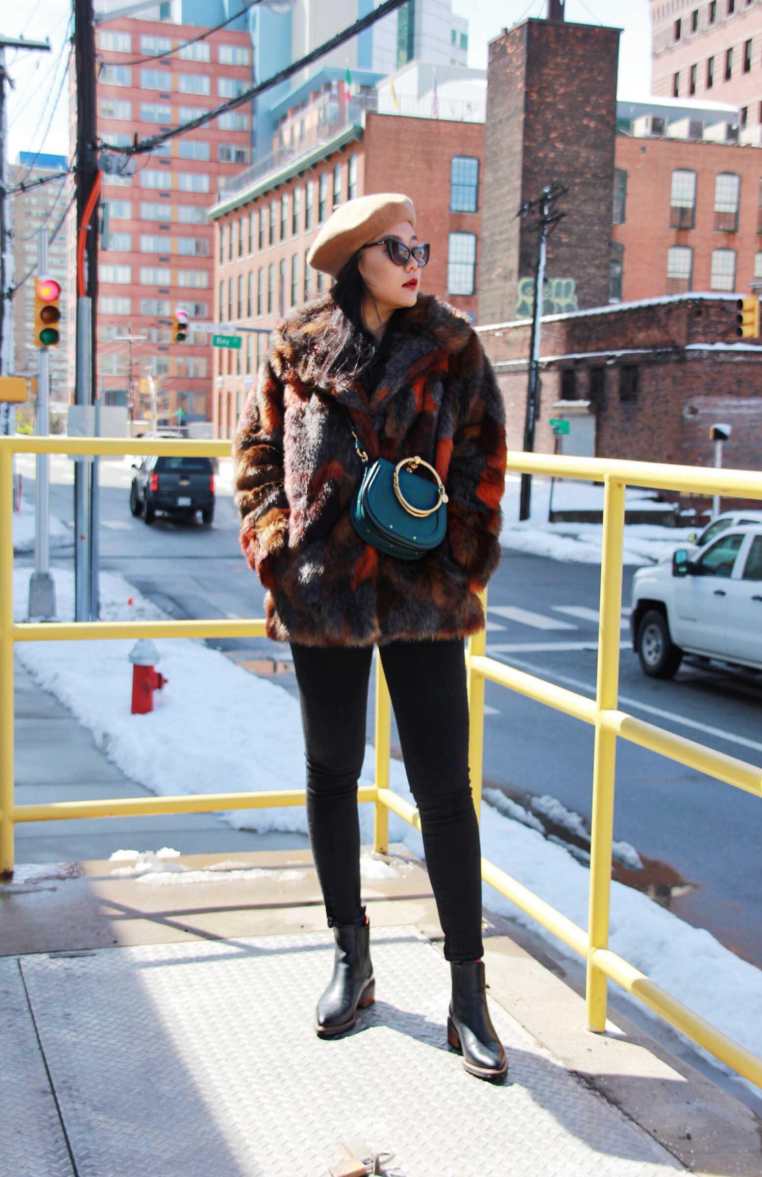 Faux Fur Coat Love