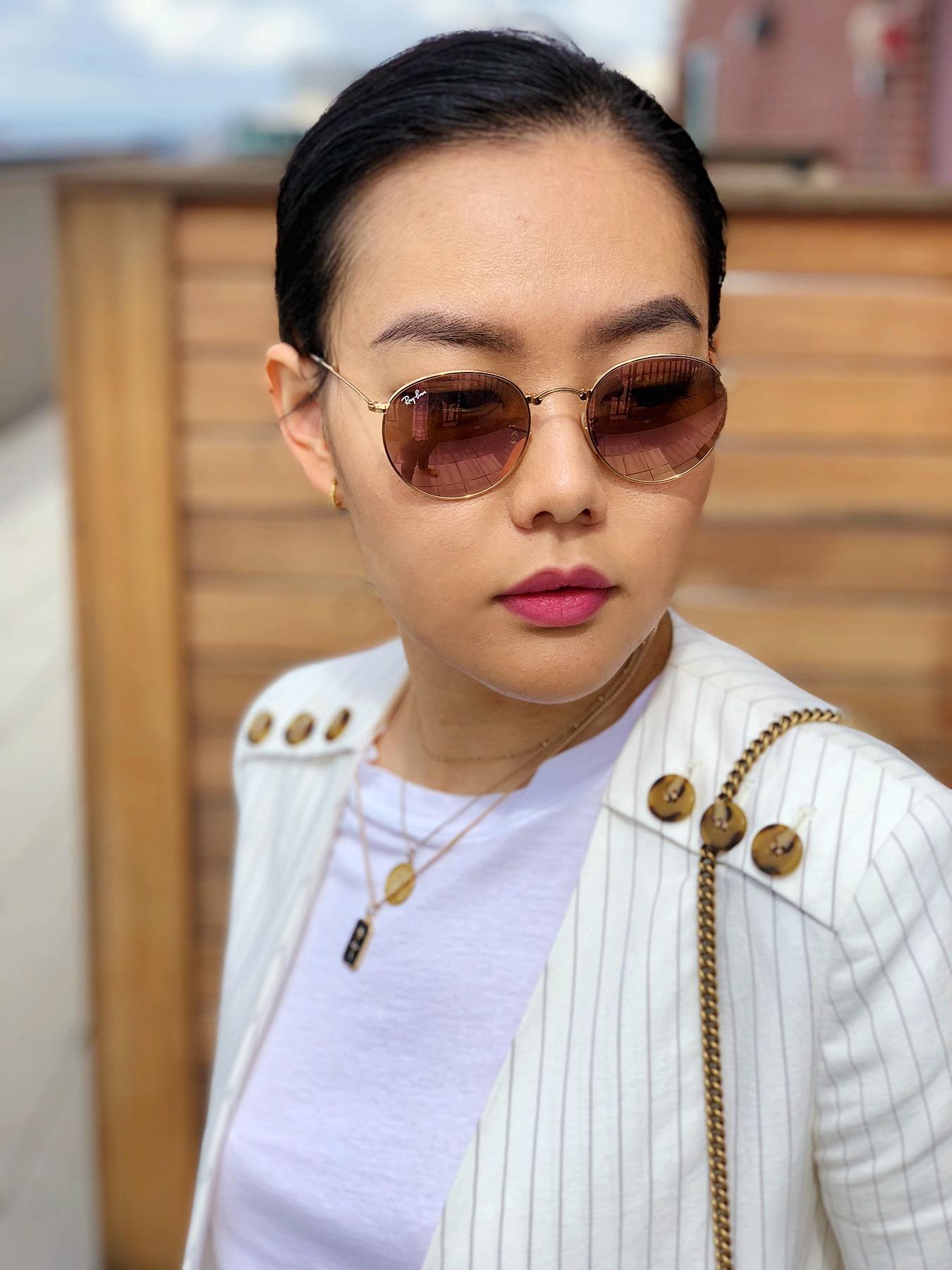 My Sunglasses Collection - Rayban Round