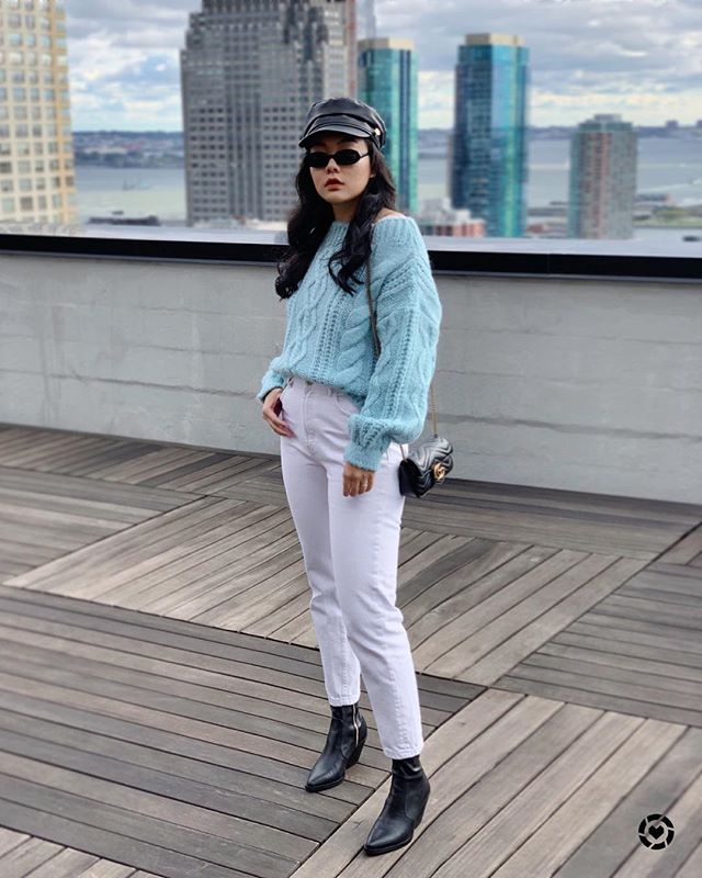 New post on my blog: How to style chunky sweaters and look chic not chunky ☕️ head over to www.cafecarrie.com for two different styles with this gorgeous blue sweater 🍦 link in bio 🍦  Shop my chunky sweater picks on the LIKEtoKNOW.it app http://liketk.it/2xLdS . . .  #liketkit @liketoknow.it #outfitideas #styleoftheday#fashionaddict #everydaystyle #style #fashionista #instastyle #outfitinspo #mylook #stylegram #casualchic #bloggervibes #effortlessstyle #whatiwore #thehappynow #discoverunder10k #itbag #fashionblogger #streetstyleluxe  #instagood #photooftheday #westernboots #htfla #ggmarmont #fallfashion2018 #chunkysweater