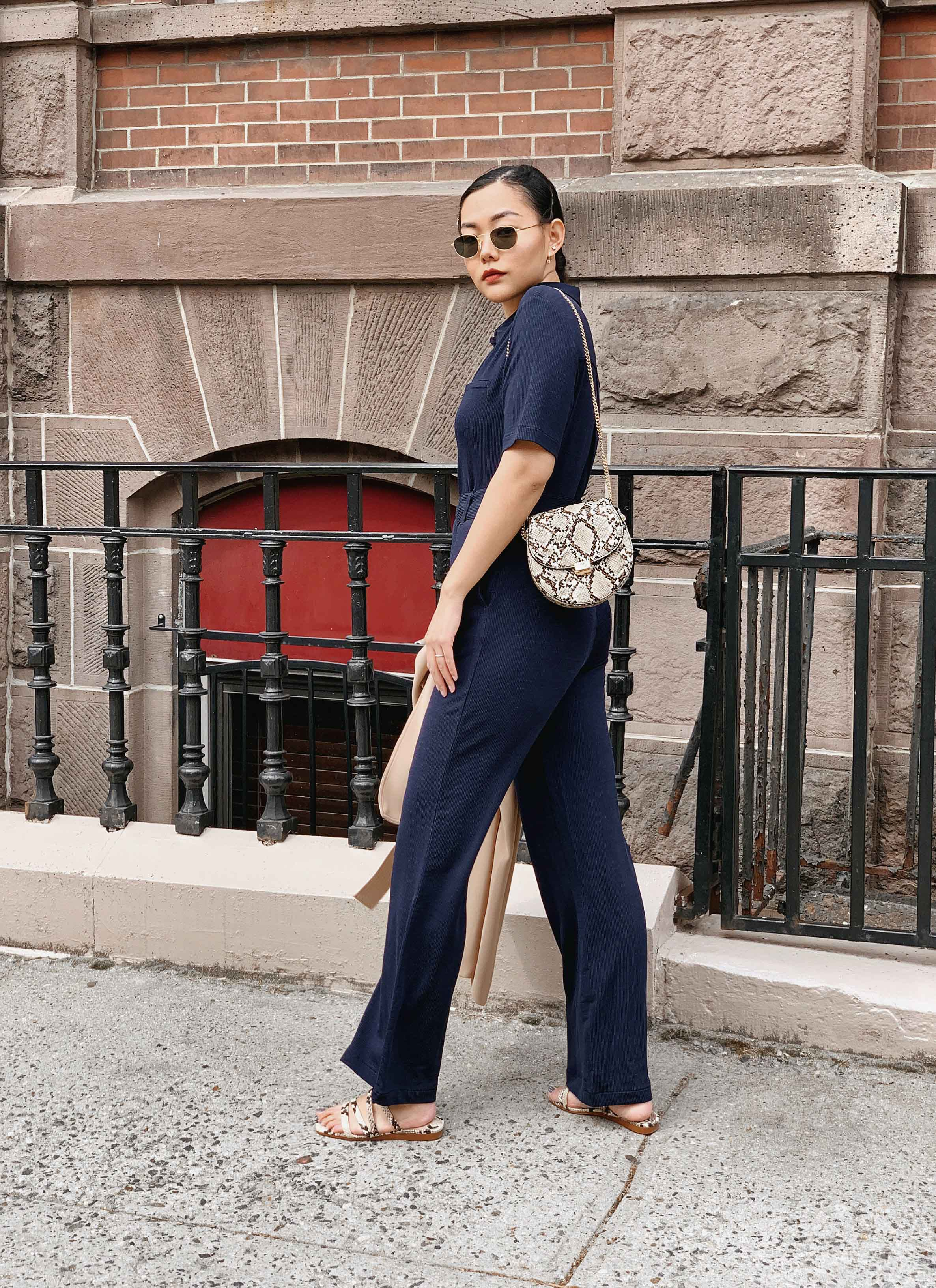 How To Wear A Jumpsuit Casually