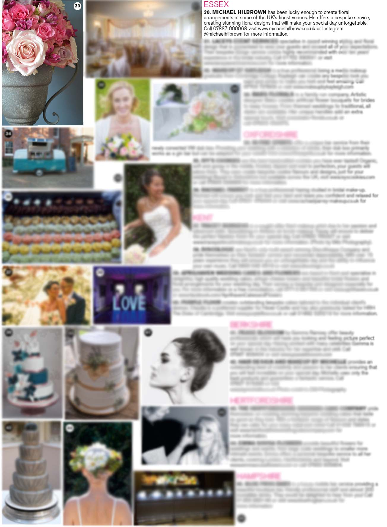 BRIDES Magazine July & August Cupid's Counties - Michael Hilbrown Essex Florist.jpg